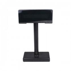 BIRCH VISOR CLIENTE VFD BIRCH PRETO 2X20 USB/RS232 ALIMENTADO