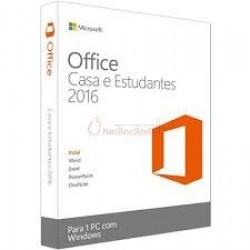 Microsoft Office Casa e Estudantes 2016 PT Medialess