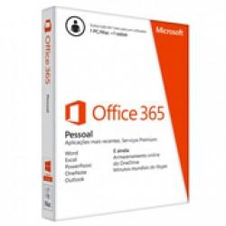 Microsoft Office 365 Pessoal PT Subscrição Anual