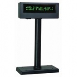 POS VISOR CLIENTE VFD PRETO 2x20 CARACTERES USB