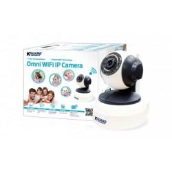 Câmara QRT-501 IP Wi-Fi Omnidireccional