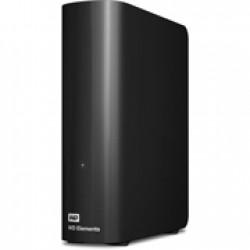 "WD HDD 3TB ELEMENTS EU-PLUG DESKTOP 3.5"" USB 3.0/2.0 BLACK"