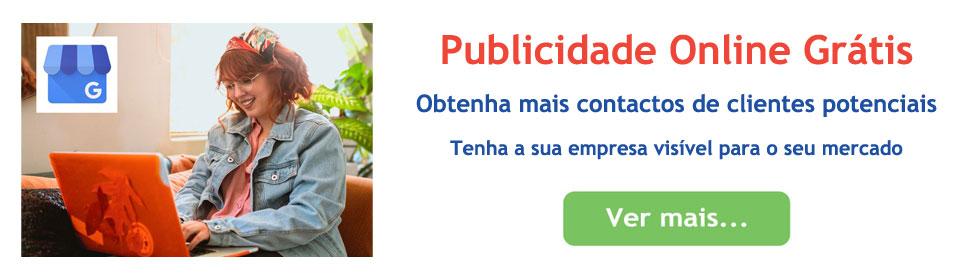 Publicidade online Grátis