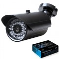 CAMERA P/ EXTERIOR CCD 1/3'' ANTI-CUT, IR, CW-30R11