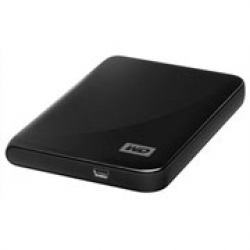 "WD HDD 320GB MYPASSPORT ESSEN USB2 2.5"" BLACK"