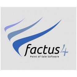 Factus 4 - Point of sale software - actualização de licença