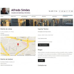 Site institucional - subscrição mensal