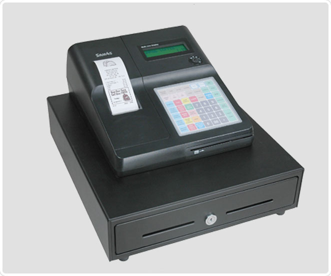 Máquina caixa registadora certificada