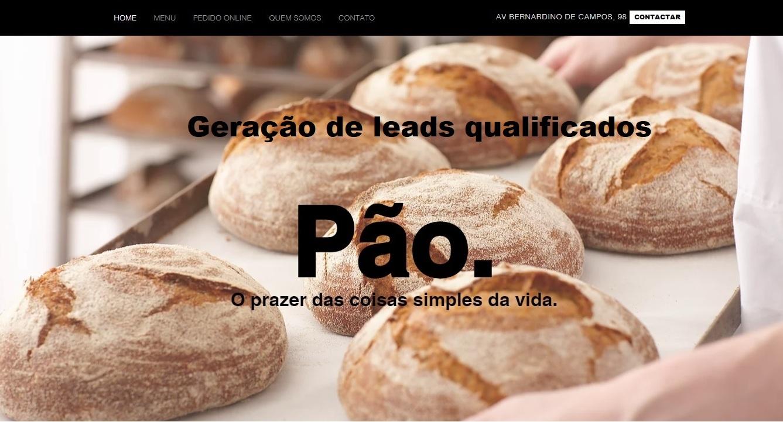 Site institucional subscricao mensal