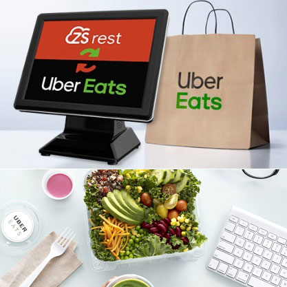 ZSRest integra com Uber Eats